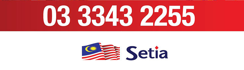 Call us at 03 3343 2255  | Setia